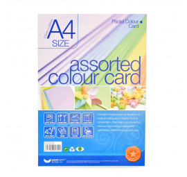 Unicorn L-Colour Art Card A4-12020 UAP-722 (10 packets)