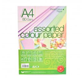 Unicorn L-Colour Art Paper A4-8040 UAP-725 (10 packets)