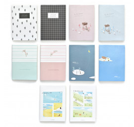 Unicorn A5 PVC Cover Note Book UNB-69 (40 pcs)