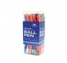 Unicorn Ball Pen 0.7MM Asst UBP-333-25'S (32 boxes)