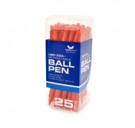 Unicorn Ball Pen 0.7MM Red UBP-333-25'S (32 boxes)
