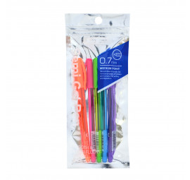 Unicorn Semi Gel Pen 0.7MM Asst 5'S UBP-616FC (12 pcs)