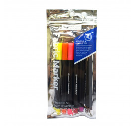 Unicorn Fabric Marker UFM-125F-B 6'S Asst (12 packets)