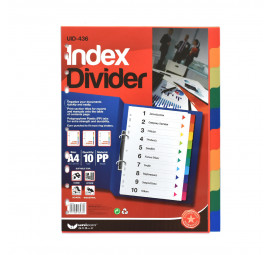 Unicorn Colour Divider PP 10C UID-436 (20 packets)