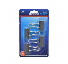 Unicorn Black Binder Clip UBC-32MM-4'S (24 cards)