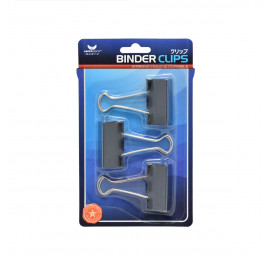 Unicorn Black Binder Clip UBC-41MM-3'S (24 cards)