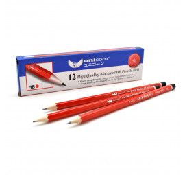 Unicorn HB Pencil B-9151-12'S (12 boxes)