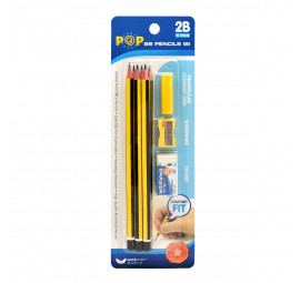 Unicorn POP 2B Pencil Set BC-181-9'S (12 sets)