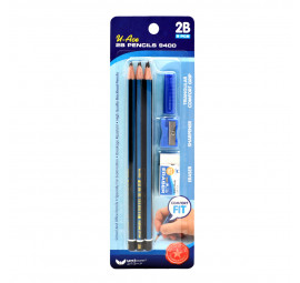 Unicorn 2B Pencil Set BC-9400-9'S (12 sets)