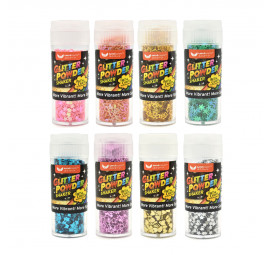 Unicorn Glitter Powder UGP-16307 Shape (24pcs)