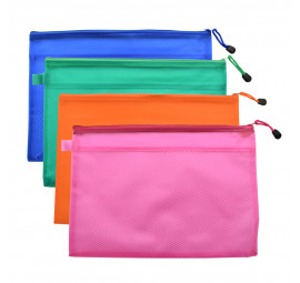 Unicorn PVC Zipper Bag A4 UZB-JC56 (12 pcs)