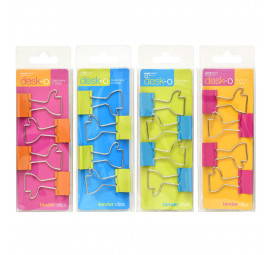 Unicorn Shaped Binder Clips 82004-4'S (12 pcs)