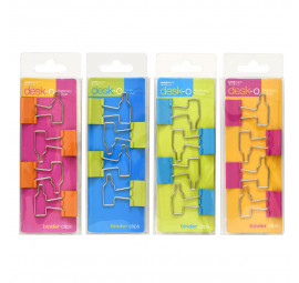 Unicorn Shaped Binder Clips 82006-4'S (12 pcs)