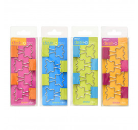 Unicorn Shaped Binder Clips 82008-4'S (12 pcs)