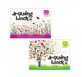 Unicorn Drawing Block UDB-165GM (3 books)