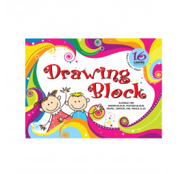 Unicorn Unistar Drawing Block UDB-105-16 (20 books)